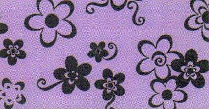 580c70b7448 Comprar Goma Eva 35x47 Flores Negro Fondo Lila 2mm