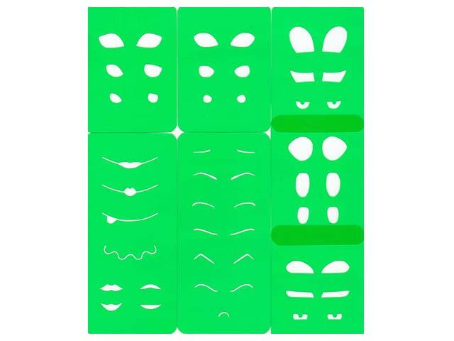 Comprar Plantillas B: Ojos y bocas para fofuchas | Arcilla de ...