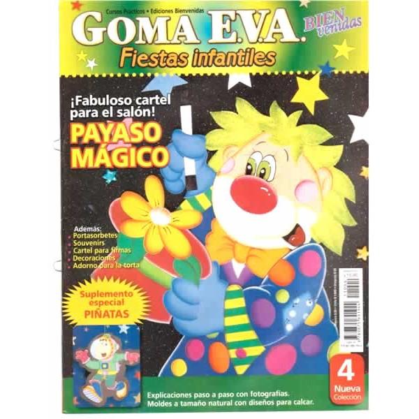 Manualidades en goma eva para fiestas infantiles car for Decoracion infantil goma eva